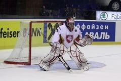 Goalkeeper Mantas Armalis of Lithuania Stock Images