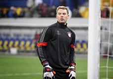 Goalkeeper Manuel Neuer of Bayern Munich Royalty Free Stock Photography