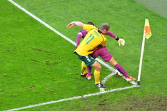 Goalkeeper of the National Team of Poland Wojciech Szczesny during friendly soccer match versus Lithuania Stock Photos