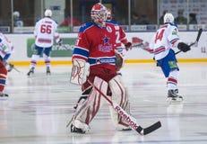 Goalkeeper Rastislav Stania Stock Photos