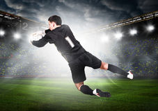 Goalkeeper Stock Photo