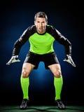 Goalkeeper soccer man  Stock Photography