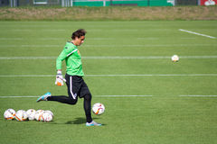 Goalkeeper Yann Sommer in dress of Borussia Monchengladbach Stock Photo