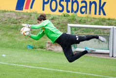 Goalkeeper Yann Sommer in dress of Borussia Monchengladbach Stock Images