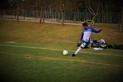 Goalkeeper8 Royalty Free Stock Image