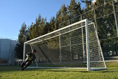 Goalkeeper Royalty Free Stock Image
