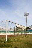 goalpost soccer Στοκ Εικόνες