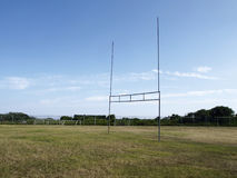 Goalposts Royalty Free Stock Images