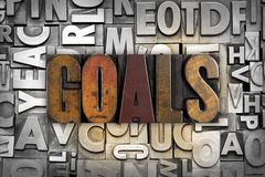 Goals Stock Images