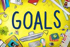 Goals Aim Aspiration Anticipation Target Concept Stock Photo