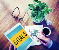 Goals Aim Aspiration Motivation Target Vision Concept Royalty Free Stock Image