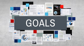Goals Aim Aspiration Motivation Target Vision Concept Stock Photography