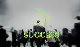 Goals Aim Forward Positivity Success Mission Concept Royalty Free Stock Image