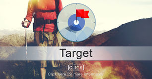 Goals Aim Purpose Mission Target Concept Stock Photography