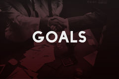 Goals Aspiration Target Vision Confidence Hopeful Concept royalty free stock photography