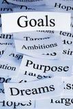Goals Concept Stock Image