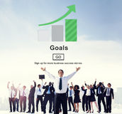 Goals Inspiration Mission Motivation Target Website Concept Royalty Free Stock Photography