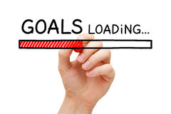 Goals Loading Concept Royalty Free Stock Image