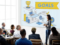 Goals Mission Motivation Aspiration Target Concept Royalty Free Stock Photos