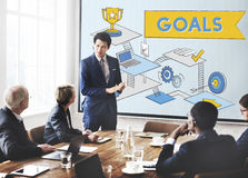 Goals Mission Motivation Aspiration Target Concept Stock Photos