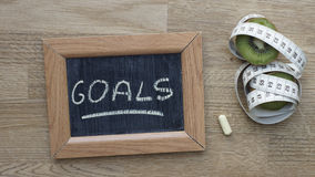 Goals new year Royalty Free Stock Photography