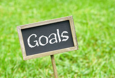 Goals Royalty Free Stock Photography