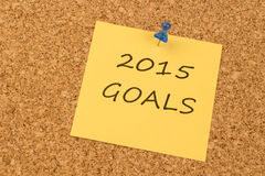 2015 Goals Royalty Free Stock Photos