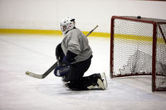 Goaltender Royalty Free Stock Images