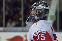 Goaltender Borisov Sergey Royalty Free Stock Photo