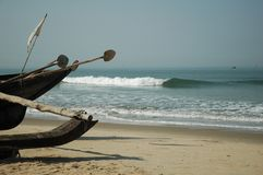 Goan Boot Lizenzfreie Stockfotos