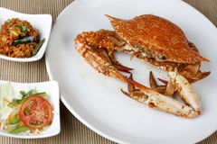 Goan Crab fry. – a dish made of frying whole crabs Stock Photography