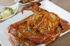 Goan Crab fry from India Royalty Free Stock Image