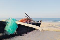 Goan fishing boat Royalty Free Stock Photos