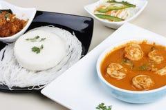 Goan-Garnelen-Curry von Indien Lizenzfreies Stockfoto