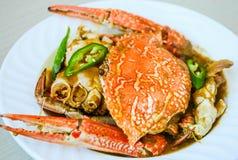 Goan kraba curry Obrazy Royalty Free