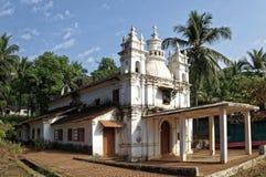 Goan kyrka arkivbild
