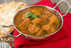 Goan Pork Vindaloo Royalty Free Stock Photography