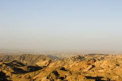 Goanikontes is situated in a lunar-like landscape Royalty Free Stock Photos