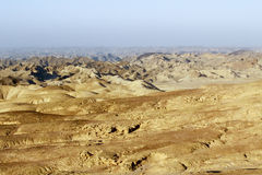 Goanikontes is situated in a lunar-like landscape Stock Photos