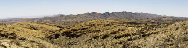 Goanikontes is situated in a lunar-like landscape, in the Namib Stock Photo