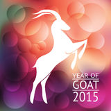 Goat banner Royalty Free Stock Photo
