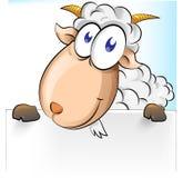 Goat cartoon Stock Image