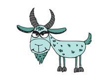 Goat cartoon  illustration Stock Photo
