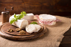Goat cheese Royalty Free Stock Photo