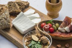 Goat Cheese royalty free stock images
