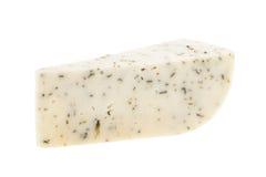 Goat cheese isolated on white background Stock Image