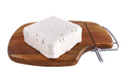 Goat Cheese On Plate Royalty Free Stock Photos