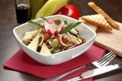 Goat cheese salad Stock Photo