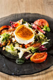 Goat cheese salad Royalty Free Stock Photo