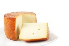 Goat cheese from Sardinia Stock Photos